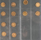 Denmark gold coins and other (12)