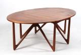Niels Kofoed. Vintage 'Drop Leaf Table' in teak, Model No. 304