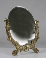 Spegel, mässing