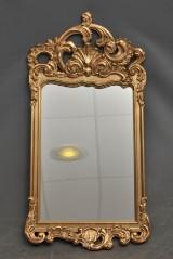 Spegel i rokokosil
