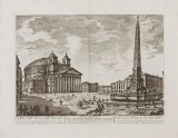 Rome 5 etchings Barbault 1763