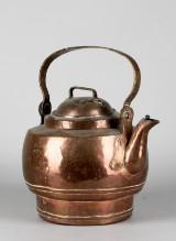 Kopparkanna, 1800-tal, 44cm