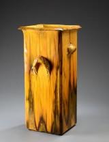 Svend Hammershøi for Kähler. A large floor vase, earthenware