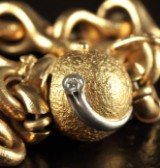 Ole Lynnggard bracelet  and clasp, 18 kt. gold (2)