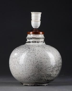 bordlampe keramik Slutpris för Svend Hammershøi 1873 1948. Bordlampe, keramik bordlampe keramik