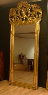 Stort nyrokoko spejl 1800-tallet