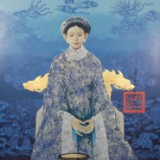 Bui Huu Hung, Lack auf Holz,'The power of Royal lady',