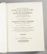 Georgius: De miraculis Sancti Coluthi... 1793