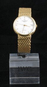18kt IWC Schaffhausen automatic watch 100gr, with papers