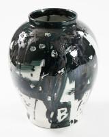 Jens Birkemose, unique vase, Royal Copenhagen