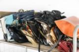 Samling handväskor