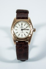 Watch, Rolex Bubbelback Oyster Perpetual Chronometer, 18K, 1949