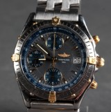 Breitling Chronomat Automatic men's watch, gold and steel