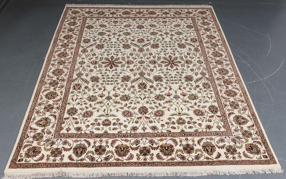 Indo Tabriz tæppe 246 x 301 cm - Indo Tabriz tæppe i målene 246 x 301 cm