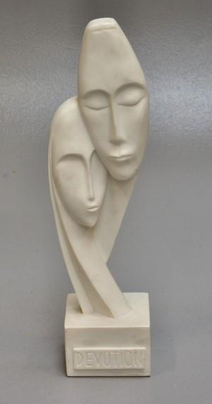 Moderne Skulptur moderne skulptur af kunstmarmor lauritz com
