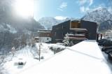 4 dages skiferie på sporty designhotel ****Walliserhof i Brand (Vorarlberg) i et Komfort dobbeltværelse inkl. skipas for 2 personer