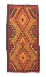 Nordvest persisk kelim, 290x140 cm.