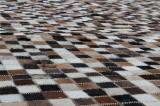 Koskindstæppe. Patchwork, 227 x 160 cm.