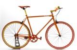 Von Braun. Fixiebike. Orange lakeret