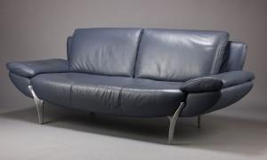 ware 3272146 rolf benz 3 sitzer sofa modell sob leder. Black Bedroom Furniture Sets. Home Design Ideas