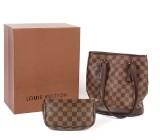 Louis Vuitton. Marais Petit Bucket, taske med pung. Original æske. (3)