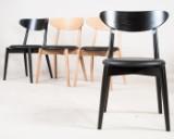 Anders Nørgaard, four chairs model Aros chair for Snedkergaarden (4)