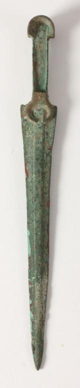 Luristan Dolk L:34,2cm. vægt 250gr.