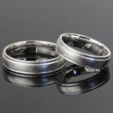 Vielses- eller forlovelsesringe i sterling sølv