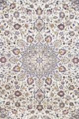 Matta, Ljus Keshan, Persien. 350 x 246