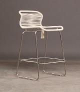 Verner Panton, VP ONE, barstol i farven hvid