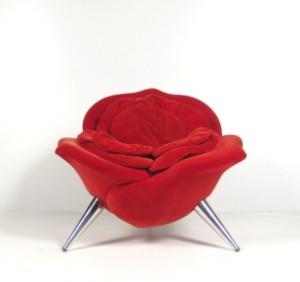 masanori umeda sessel modell rose chair f r edra. Black Bedroom Furniture Sets. Home Design Ideas