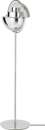 Louis Weisdorf for GUBI. Multi-Lite Floor Lamp, Chrome