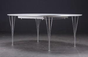 piet hein bord ellipse Piet Hein & Bruno Mathsson. Super ellipse bord med udtræk, 180 x  piet hein bord ellipse