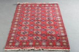 Orientalisk handknuten matta, Bochara 287 x 123 cm.