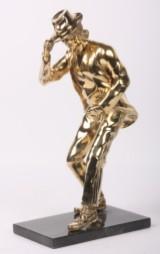 Robbi Jones, Michael Jackson, skulptur af messing.