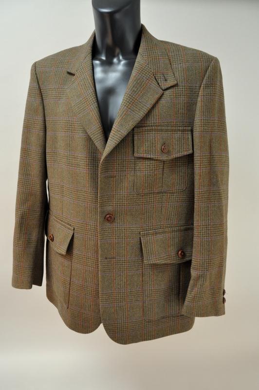 laksen tweed jakke