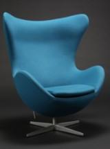 Arne Jacobsen, lounge chair, The Egg, model 3317, with tilt function