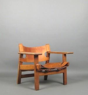 børge mogensen a lounge chair model spanish chair 2226 for