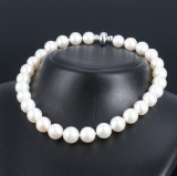 South Sea cultured pearl necklace and modern Colpo & Zilio clasp