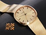 Patek Philippe. Vintage men's watch, 18 kt. gold with automatic movement