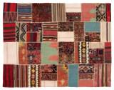 Shahsavan Patchwork tæppe, 223 x 175 cm