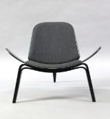 Hans J. Wegner. Three-legged shell chair, model CH07
