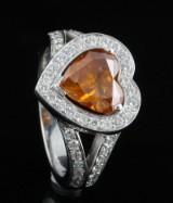 18K diamond ring approx.2.26ct.