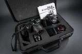 Nikon F4 kamera med tilbehør