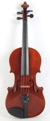 Tysk håndbygget 4/4 violin. Neuer Hornsteiner. Stradivarius model.