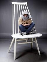 Ilmari Tapiovaara, unique chair, 'Mademoiselle' XXL, 192 cm