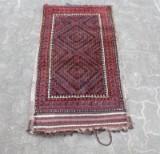 Teppich/Tasche, Wolle auf Baumwolle, 116 x 63 cm