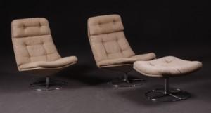 par hvilestole med skammel 3 denne vare er sat til omsalg under nyt
