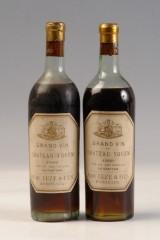 To fl. Chateau Yquem, årgang 1899 og 1908. (2)