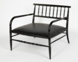 Marcel Wanders, Cappellini, a chair / armchair, lounge chair, New Antiques, wood, embossed leather